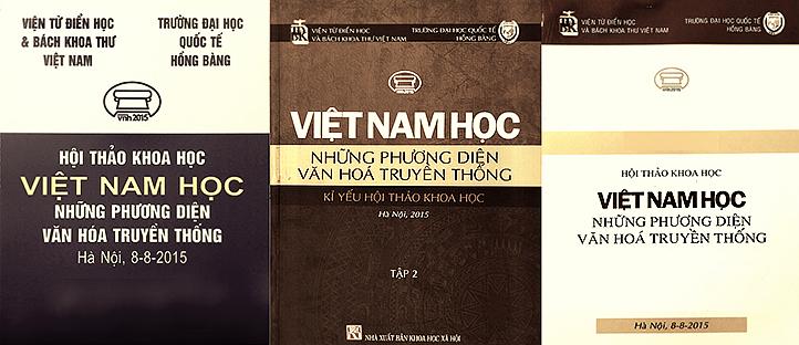 Thánh địa Việt Nam học - Bìa Hội thảo 2015