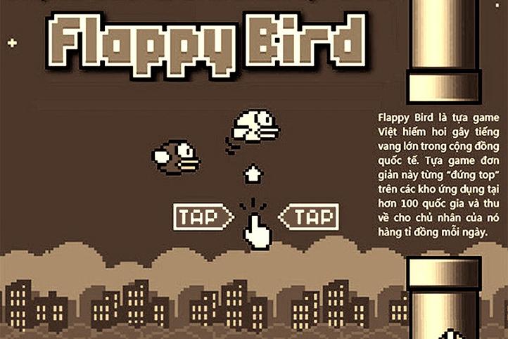 Thánh đia Việt Nam học - Flappy Bird