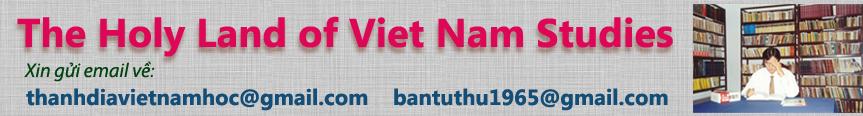 Thánh địa Việt Nam học - Header Email