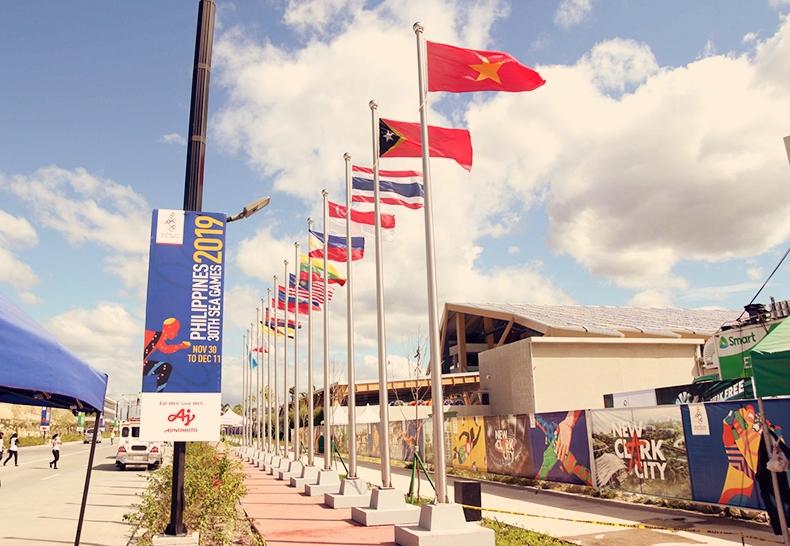 Làng Vận động viên Sea Games 30 ở New Clark City - thanhdiavietnamhoc.com
