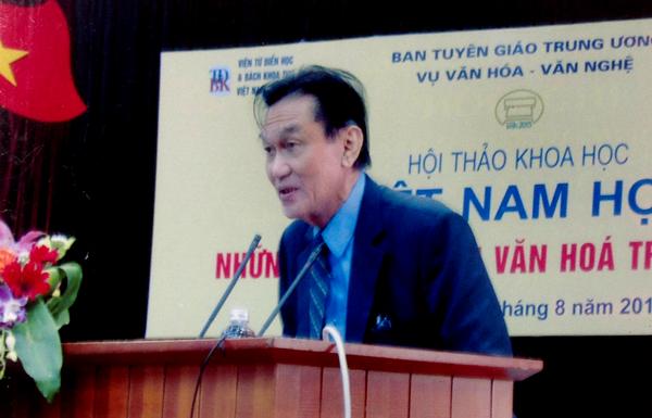PGS TS sử học Nguyễn Mạnh Hùng