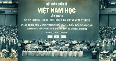 Hội thảo Khoa học Việt Nam học lần 5, 12/2016